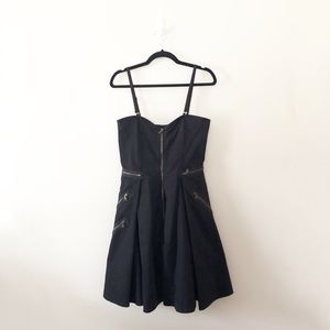 NWT Marc by Marc Jacobs Vintage Zipper Flare Dress
